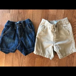 Two Pair of Old Navy Shorts for Boys